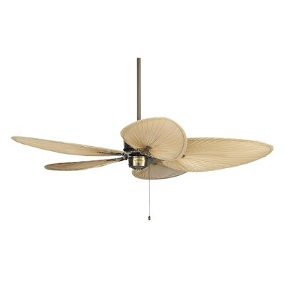 52 Islander 5 Narrow Palm Blade Ceiling Fan