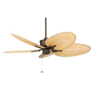 "Fanimation 52"" Islander 5 Narrow Palm Blade Ceiling Fan"
