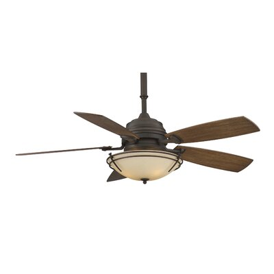 "Fanimation 54"" Hubbardton Forge 5 Bronze Blade Presidio Tryne Ceiling Fan"