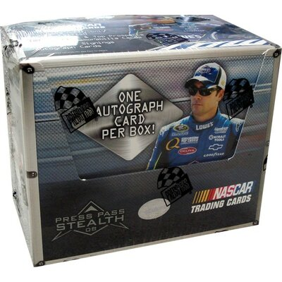 Press Pass NASCAR 2008 Press Pass Stealth Race Playing Cards (24 Packs)