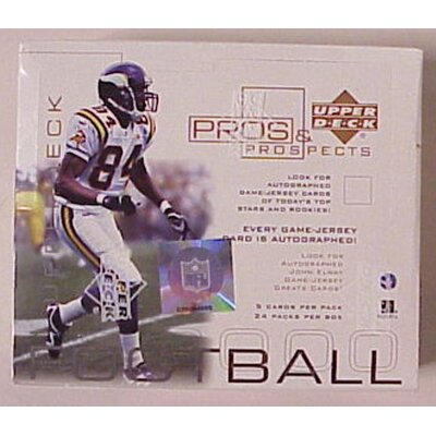 NFL 2000 Pros and Prospects Wall Cards (Set of 24)