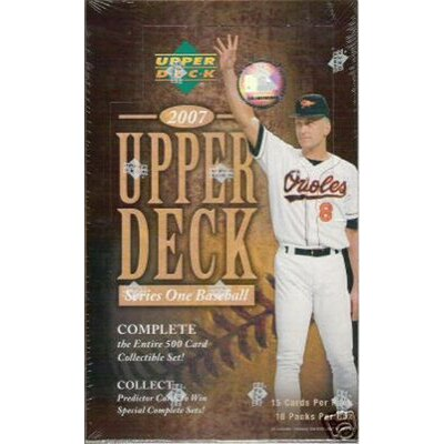 Upper Deck MLB 2007 Series 1 Baseball Trading Card (16 Pack)