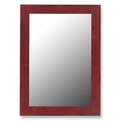 Hitchcock Butterfield Company Mirror in Barn Red