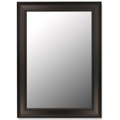 Hitchcock Butterfield Company Ceylon Black Framed Wall Mirror