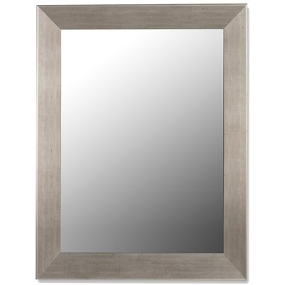 Hitchcock Butterfield Company Baroni Silver Grande Framed Wall Mirror