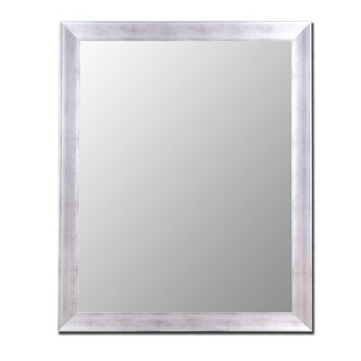 Hitchcock Butterfield Company Vintage Silver Framed Wall Mirror