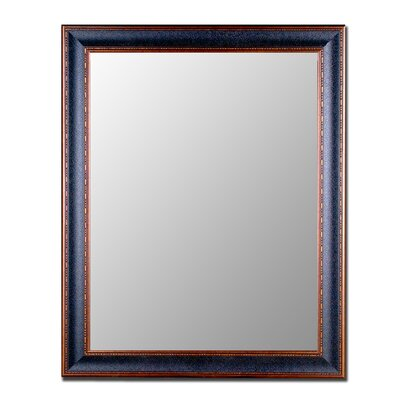 Hitchcock Butterfield Company Cameo Collection Mirror in Textured Black and Copper