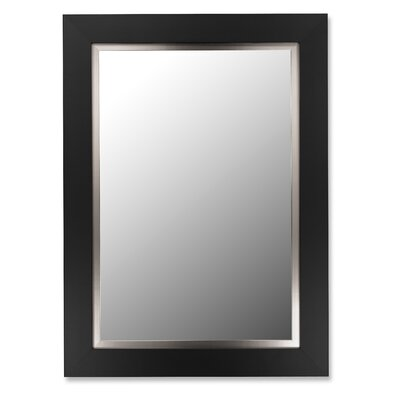 Hitchcock Butterfield Company Super Nuevo Mirror with Stainless Liner in Satin Black