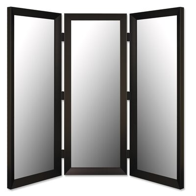 "Hitchcock Butterfield Company 71"" x 69""  Mirror 3 Panel Room Divider"