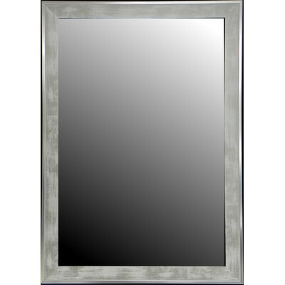 Hitchcock Butterfield Company New White Stainless Trim Mirror