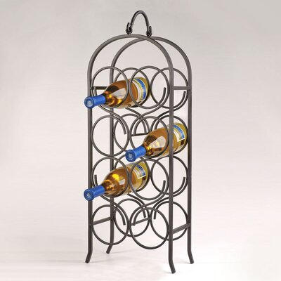 8 Bottle Wine Rack