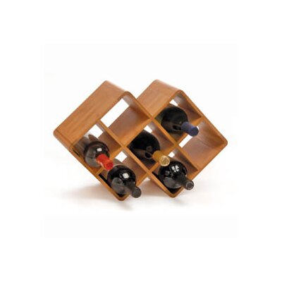 Oenophilia Greenophile 8 Bottle Tabletop Wine Rack