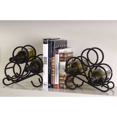 Oenophilia Scroll Rack Bookends (Pair)