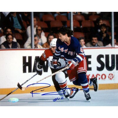 "Steiner Sports Ron Duguay Skating Vs. Flyers Autographed 8"" x 10"" Photograph"