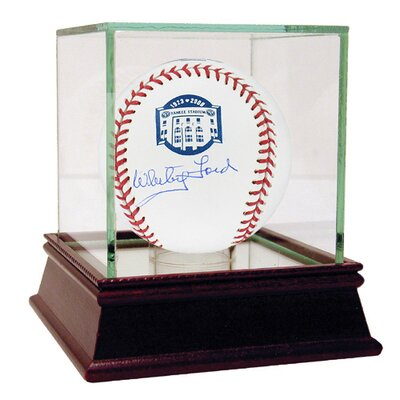 Whitey Ford Yankee Stadium Autographed Commemorative Baseball