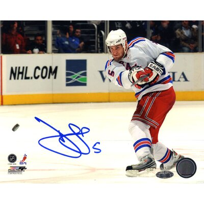 Steiner Sports Dan Girardi Slap Shot Autographed Photograph