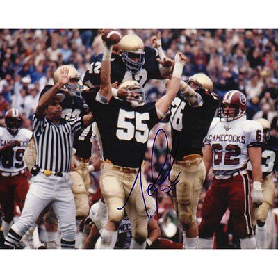 Steiner Sports Mike Golic Notre Dame Arms Raised Autographed Photograph graph