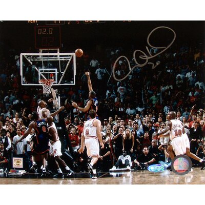 "Steiner Sports Allan Houston Autographed Last Second Shot Vs. Miami 8"" x 10"" Photograph"