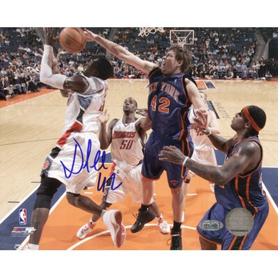 Steiner Sports NBA David Lee Blocking Gerald Wallace Autographed