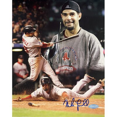 Steiner Sports Mike Lowell 07 World Series MVP Autographed Collage