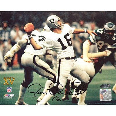Steiner Sports NFL Jim Plunkett Super Bowl XV Passing Autographed