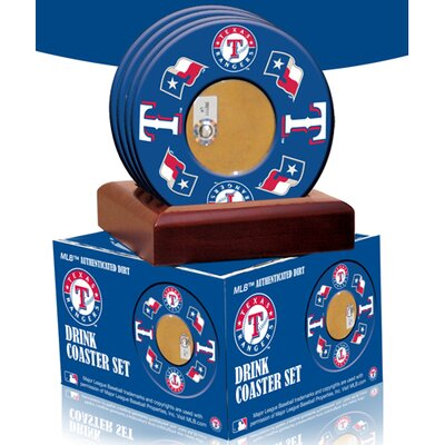 Texas Rangers Coasters (Set of 4)