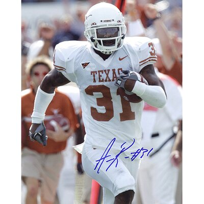NFL Aaron Ross University of Texas Vertical Autographed