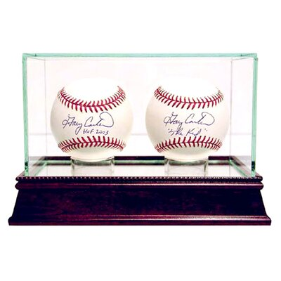<strong>Steiner Sports</strong> Double Baseball Glass Display Case