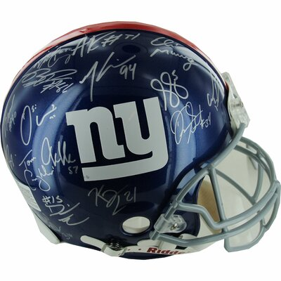 Steiner Sports New York Giants Team Signed Helmet