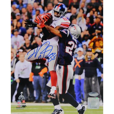 Steiner Sports Hakeem Nicks Signed Super Bowl 8x10 Photograph