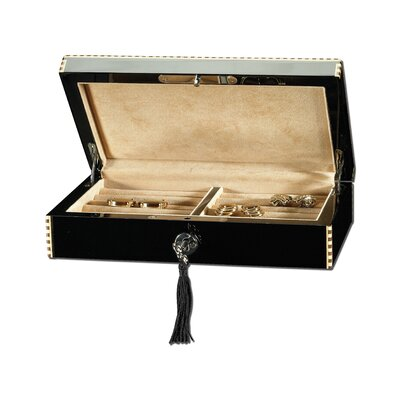 "Ragar 2.25"" High Cuff Link / Ring Collector's Box"