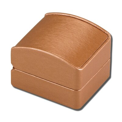 "Ragar Radiant 1.75"" High Single Ring Jewelry Box"
