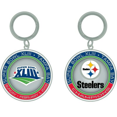 PSG NFL SB XLIII Champs ultimate keychain - Pittsburgh Steelers