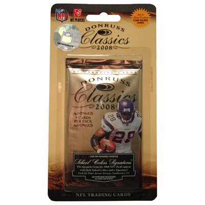 Donruss NFL 2008 Classic Blister Trading Cards (15 Packs)
