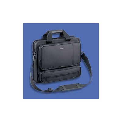 Sumdex Classic Series Black Nylon Lite Metro Briefcase