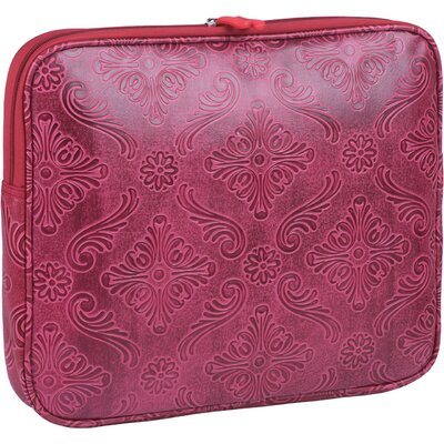 "Clark & Mayfield Hawthorne 13"" - 15"" Laptop Sleeve in Red"