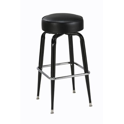 "Regal Steel Square Ring 26"" Backless Metal Counter Stool"