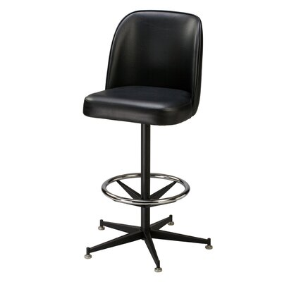 "Regal Serra 26"" Metal Swivel Counter Stool"