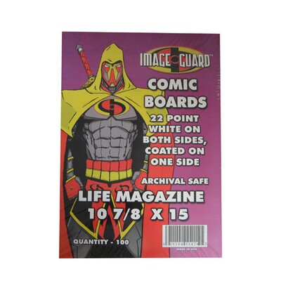 Image Guard Life Magazine Size Comic Backing Board