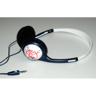 NES Group MLB Baseball Head Headphones
