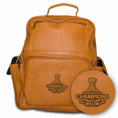 Pangea Brands NHL Boston Bruins Limited Edition Stanley Cup Computer Backpack