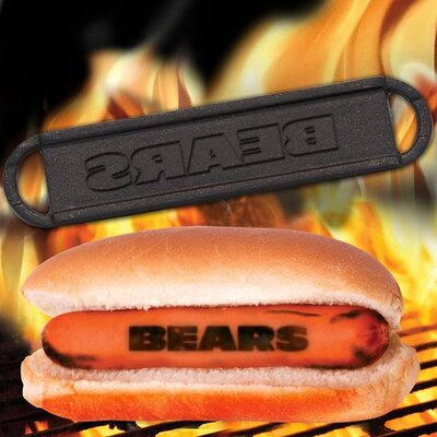 Pangea Brands NFL Hot Dog BBQ Branders
