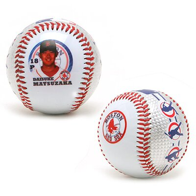 K2 MLB Daisuke Matsuzaka Collectible Ball - Boston Red Sox