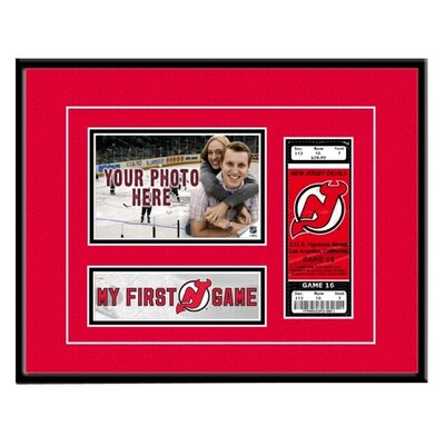 That's My Ticket NHL My First-Game Ticket Frame