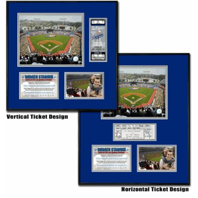That's My Ticket MLB Dodger Stadium - Ballpark Ticket Frame - Los Angeles Dodgers
