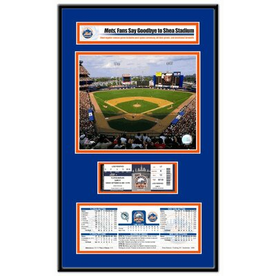 That's My Ticket MLB Shea Stadium Final Game Ticket Frame Jr. - New York Mets