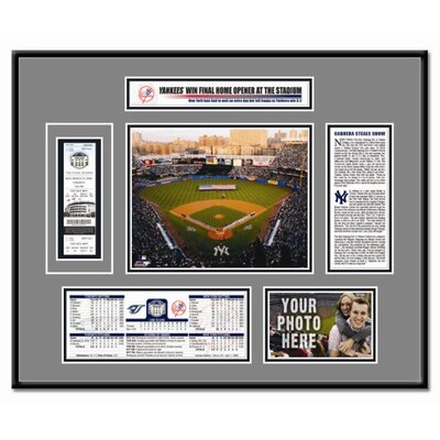 That's My Ticket MLB 2008 Opening Day Ticket Frame - New York Yankees