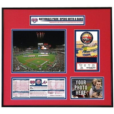 MLB Nationals 2008 Opening Day Ticket Frame - Washington Nationals