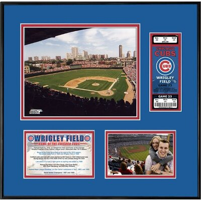 That's My Ticket MLB That's My Ticket Wrigley Field Ticket Frame (Horizontal) - Chicago Cubs