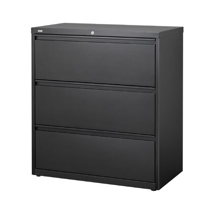 "CommClad 36"" Wide 3 Drawer Lateral File Cabinet"
